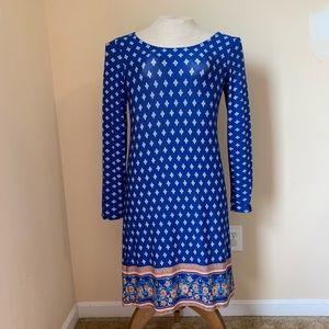 Stitch Fix Loveappella Cobalt Blue Kasi Knit Dress